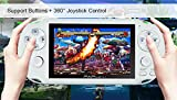 "650 games inside 4.1"" 64 bit Portable Video Game Console PAP-Gameta II Support GBA/ GBC/ Sega game format"