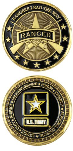 (U.S. ARMY RANGER Challenge Coin-Eagle Crest 2551 by Eagle Crest)