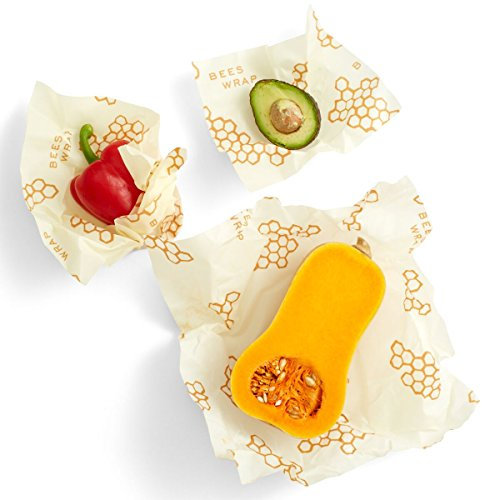 bees wrap assorted 3 pack eco friendly reusable food