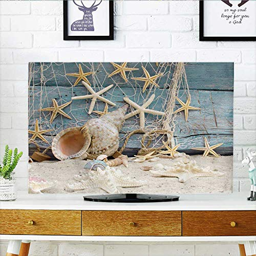 """Price comparison product image Philiphome tv Protective Cover Auszeit Urlaub am Meer tv Protective Cover W32 x H51 INCH/TV 55"""""""