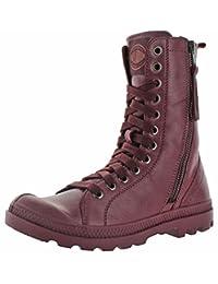 Palladium Pampa Hi Rise Women's Leather Combat Boots