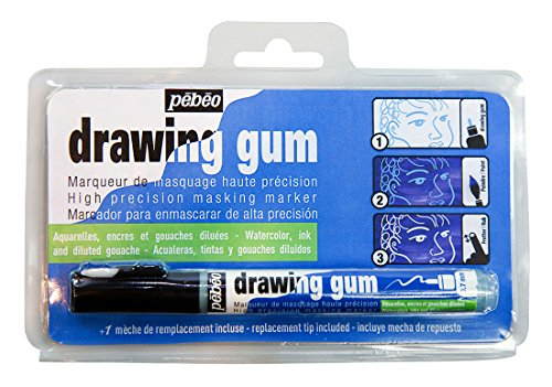 (Pebeo Drawing Gum High Precision Masking Fluid Marker Pen)