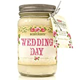 Scentiments WEDDING DAY Gift Candle LINEN Scented Fragrance 16oz