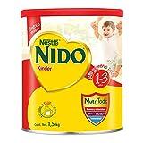 Nestlé Nido Kinder Mis Primeros Pasos para niños de 1-3 años, 1.5 kilogramos