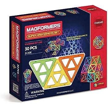 Amazon.com: Magformers Standard Set (62-pieces