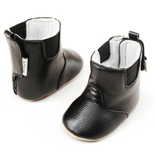 BZLine® Baby Girls Soft Boote Schnee Stiefel Kleinkinder newborn warm Stiefel Schwarz