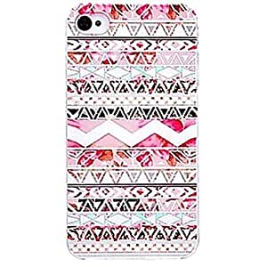 HP DF Pink Aztec Pattern Hard Case for iPhone 4/4S