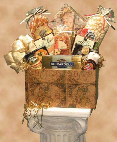 Classic Globe Gourmet Gift Box -Medium by Organic Stores