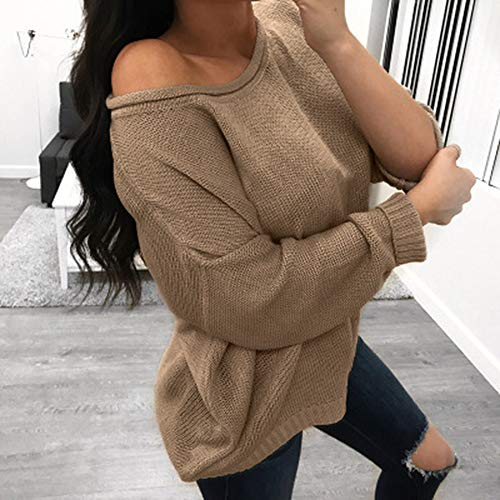 Pull Chaud de Kaki Manches Solike Blouse Grande Chemisier Manteau Sport Loose Automne Pullover Tops Femme Longues Hiver Sweat Casual Tricots Sweats Taille Shirt gwznUaxqF