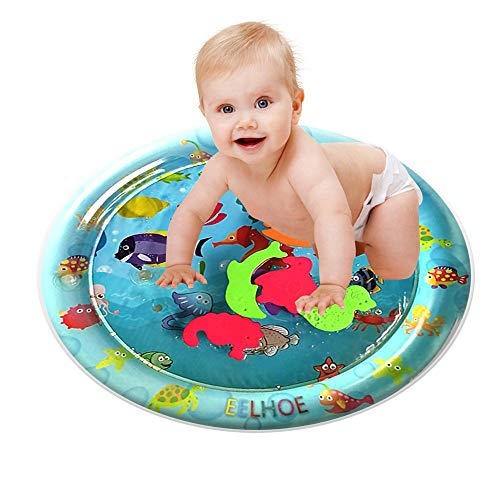 (IslandseInflatable Baby Water Mat Fun Activity Play Center for Children & Infants)