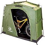The YardStash III: Space Saving Outdoor Bike...