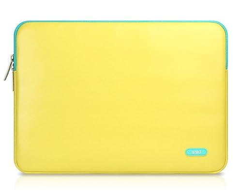 ZhuiKun Funda de Cuero Protectora Impermeable Antigolpes para Ordenador Portátil Laptop Tableta MacBook Pro Air: Amazon.es: Zapatos y complementos