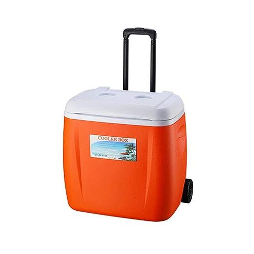 HEIRAO Caja refrigeradora, enfriadora con Ruedas con manija ...