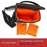 DURAGADGET Deluxe Storage Bag / Carrying Backpack for Marvel Superhero Disney Infinity Character Figures