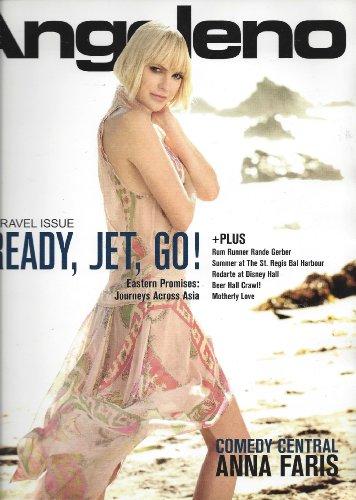 Ana Faris Angeleno Magazine May 2012 Comedy Central Hollywood Malibu Los Angeles]()