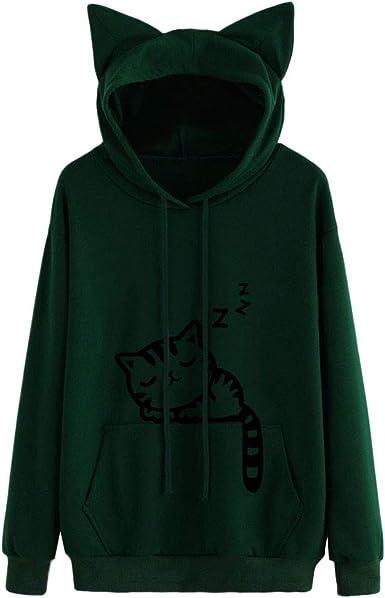 Fun Run Classic Regular Pocket Sweatershirt Hoodie Sweater for Women XL Black