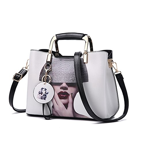 419116d62496 Nevenka Purses and Handbags for Women Top Handle Satchel Shoulder Bags  Ladies Leather Totes
