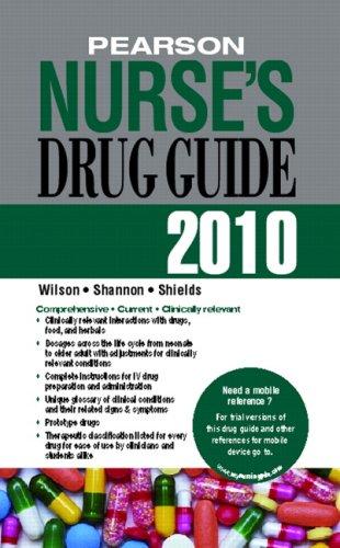Pearson Nurse's Drug Guide 2010