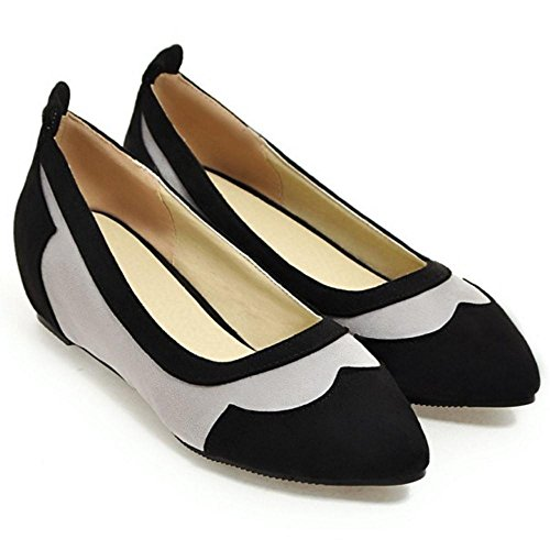 Coolcept Zapatos de Tacon de Cuna Para Mujer Black