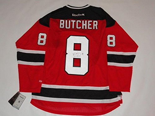 William Harridge Signed Jersey - Will Butcher Reebok Premier #8 New Devils Licensed Proof - Autographed MLB Jerseys