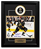 William Karlsson Golden Knights Autographed Signature Vegas Strong 23x19 Puck Frame #/17 - COA Included