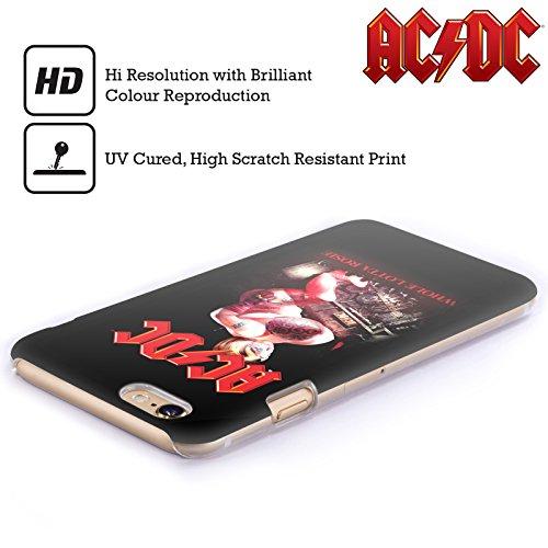 Officiel AC/DC ACDC Tout Lotta Rosie Titres De Chanson Étui Coque D'Arrière Rigide Pour Apple iPhone 3G / 3GS