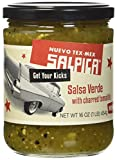 Salpica Salsa Verde with Charred Tomatillo, 16 Ounce - 6 per case.