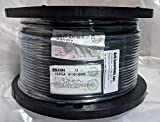 BELDEN 1505A 0101000 COAXIAL CABLE, RG-59/U, 20AWG, 75 OHM, 1000FT, BLK