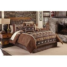 Croscill Caribou WC Comforter Set, King, Multicolor