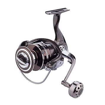 FGKING Carrete de Pesca, Carrete de Spinning Cuerpo Completo de ...