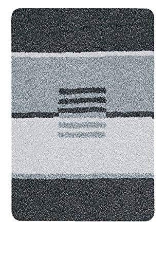 Kleine Wolke 5521905256 Deco Badematte Baumwolle Grau 50 x ...