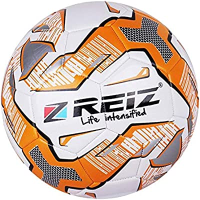 perfeclan Balón de Fútbol Cuero PU Bomba de Balón Práctica al Aire ...