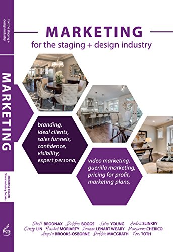 MARKETING: For the staging + design industry cover