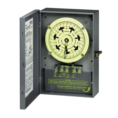 Intermatic T7801B 125-Volt 7-Day Mechanical Time Switch with Nema 1 Indoor ()