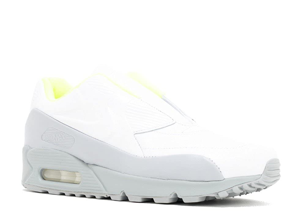 official photos ed270 c98d0 Amazon.com | NIKE WMNS Air Max 90 SP/SACAI Womens Running Shoes,  White/White-Wolf Grey-Volt, 8 M US | Road Running