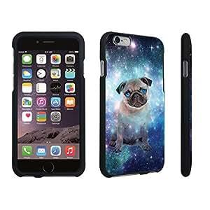 DuroCase ? Apple iPhone 6 Plus - 5.5 inch Hard Case Black - (Space Pug)