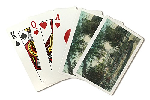 san-mateo-california-exterior-view-of-the-peninsula-hotel-playing-card-deck-52-card-poker-size-with-