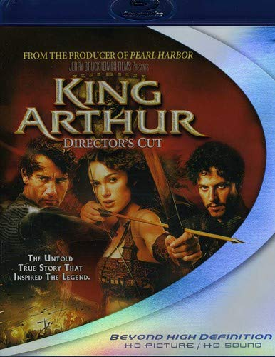 King Arthur (Director's Cut) [Blu-ray] (King Arthur Legend Of The Sword Merlin)