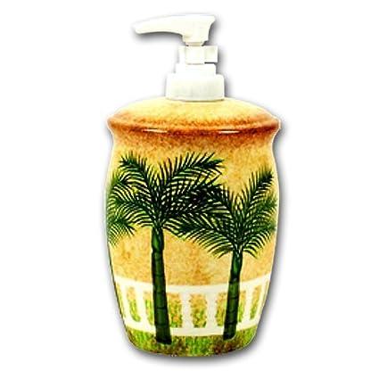 Ideal Amazon.com: Soap Dispenser Tropical Palm Tree: Home & Kitchen JX41
