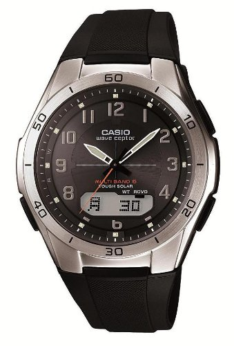 CASIO WAVECEPTOR TOUGH SOLAR RADIOWAVE CONTROLLED 6 MULTIBANDS WVA-M640-1A2JF (Watch Tough Ceptor Solar Wave)