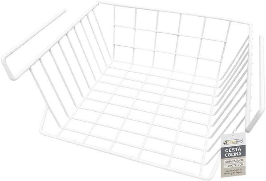 White CONFORTIME S2202243 Basket One Size