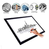 Novelty LED Light Adjustable Artist Board - Tracing Drawing Display - Essentail Architect Tool, Gift Ideal for a wide variety of tasks arts, crafts, design, stencilling, tattoo, photo work, sewing etc