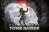 CGC Huge Poster - Rise of The Tomb Raider Lara Croft - XBOX ONE PS4 PC - TOM024 (24