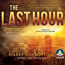The Last Hour Audiobook by Harry Sidebottom Narrated by Dugald Bruce Lockhart