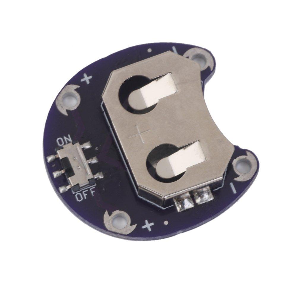 Lilypad Pile Pi/èces De Monnaie Support De Batterie CR2032 Module De Monter