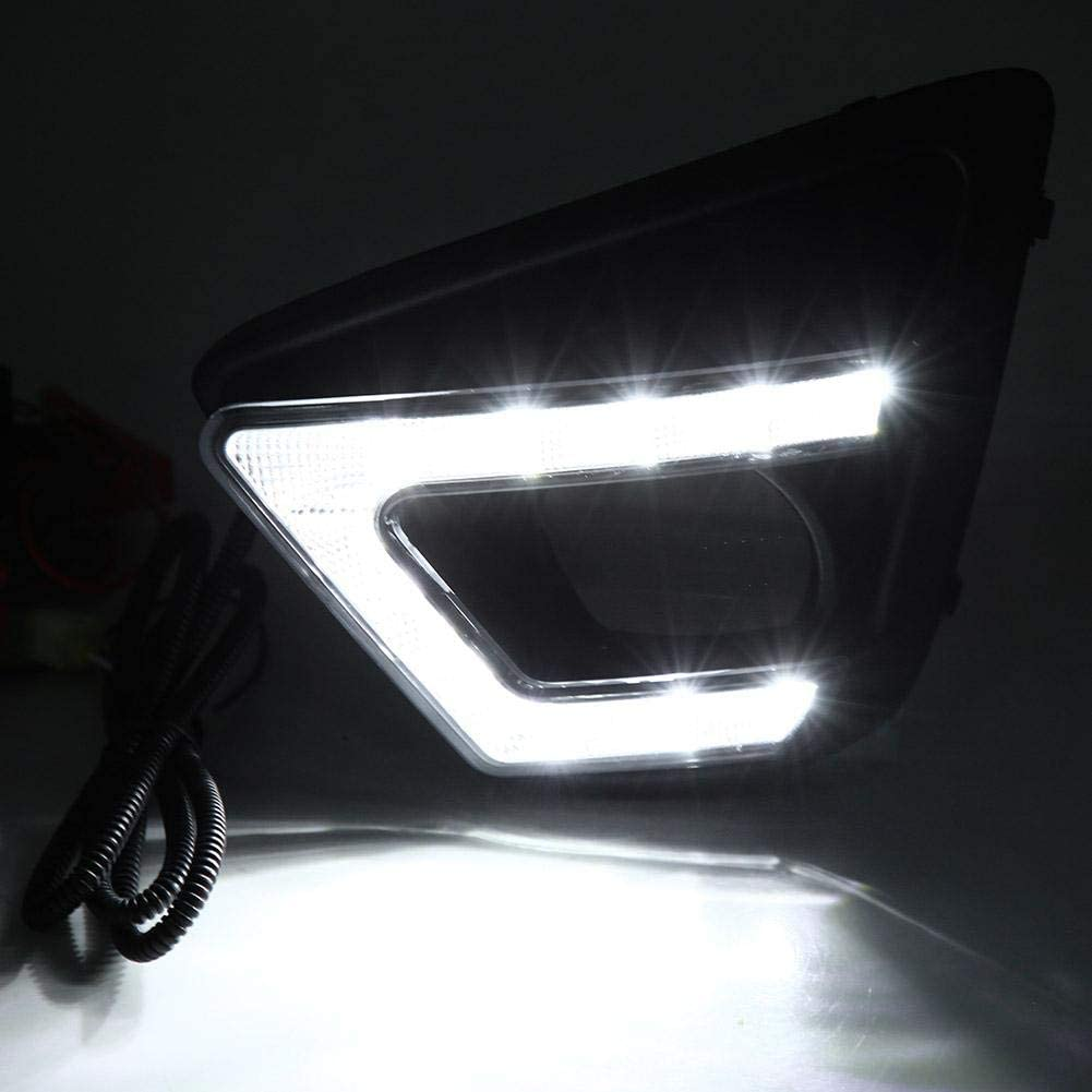 EBTOOLS Cubierta Diurna de las L/ámparas de la Niebla de la Luz del D/ía de DRL LED de las Luces de Conducci/ón Diurnas del Coche para CX-5 12-15