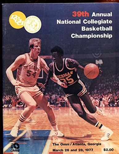 1977 Ncaa Basketball (1977 NCAA Basketball Final 4 Program Marquette vs North Carolina EXMT)