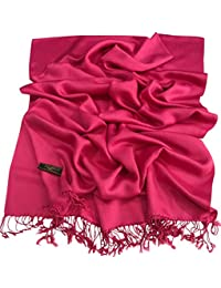 CJ Apparel Solid Colour Design Nepalese Shawl Seconds Scarf Wrap Stole Pashmina NEW