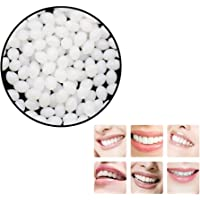 Temporary Tooth Repair Kit Teeth and Gaps False Teeth Solid Glue Denture New Creative Adhesive Cosmetic for Replacing Missing Tooth Replacement (White)