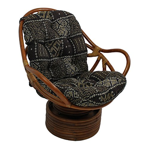 Swivel Rocker Chair Cushion - 5